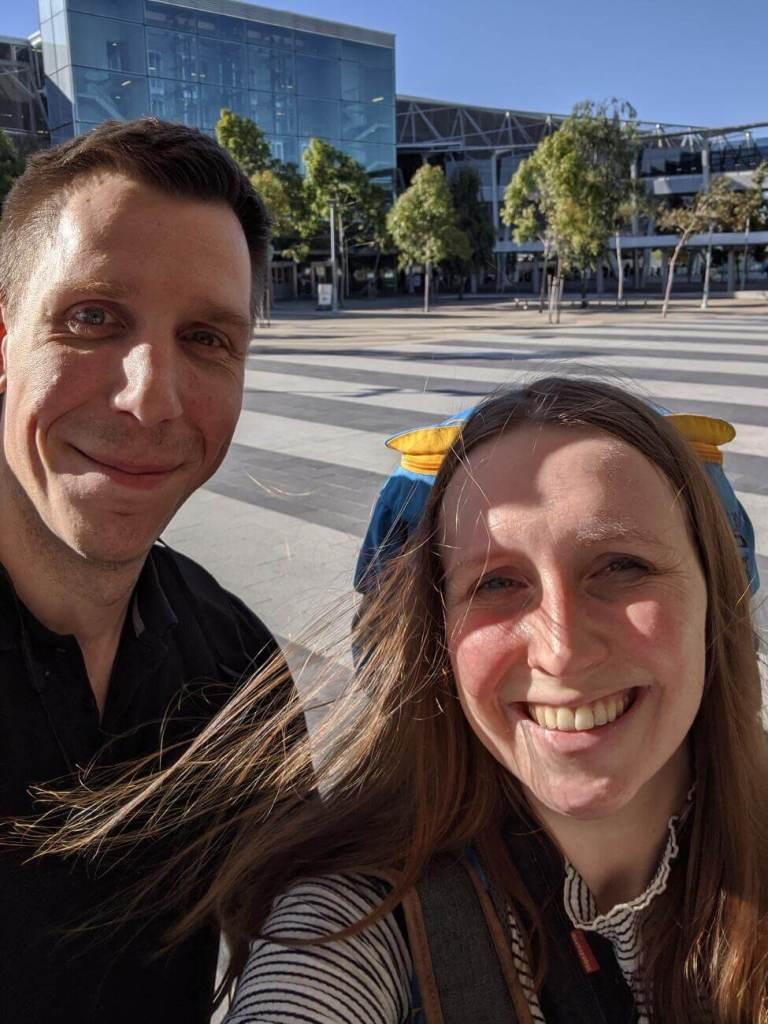 Jonas und Franzi in Australien