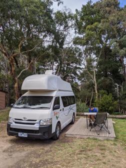 Erster Campingplatz in Australien