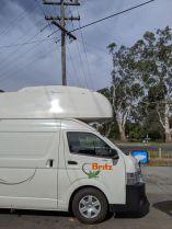 Campervan-Unfall in Australien