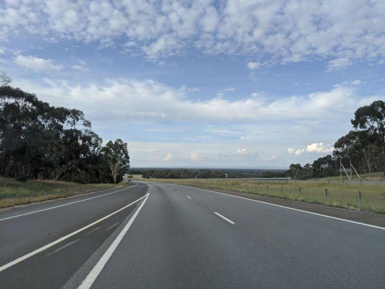 Freeway nach Sydney