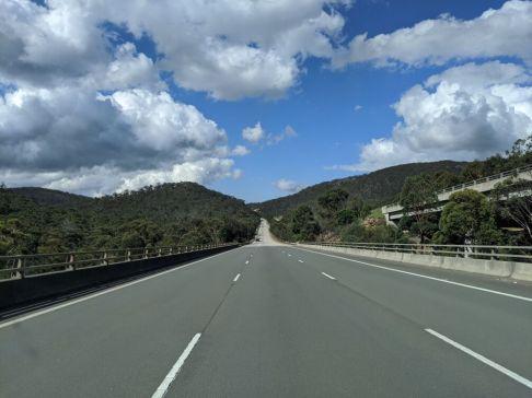 Auf dem Weg nach Sydney