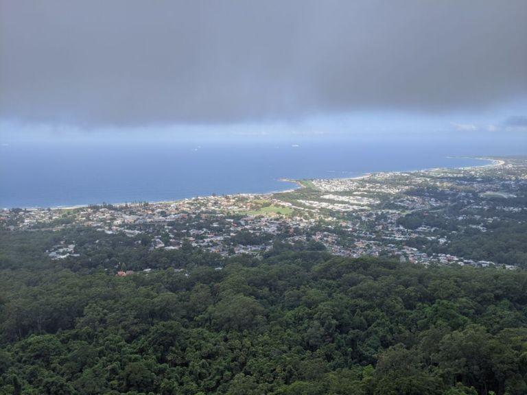 Blick auf Wollongong City
